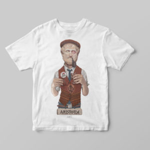 The Wisemen T-Shirts - Aristotle - Mia Ora E-Shop